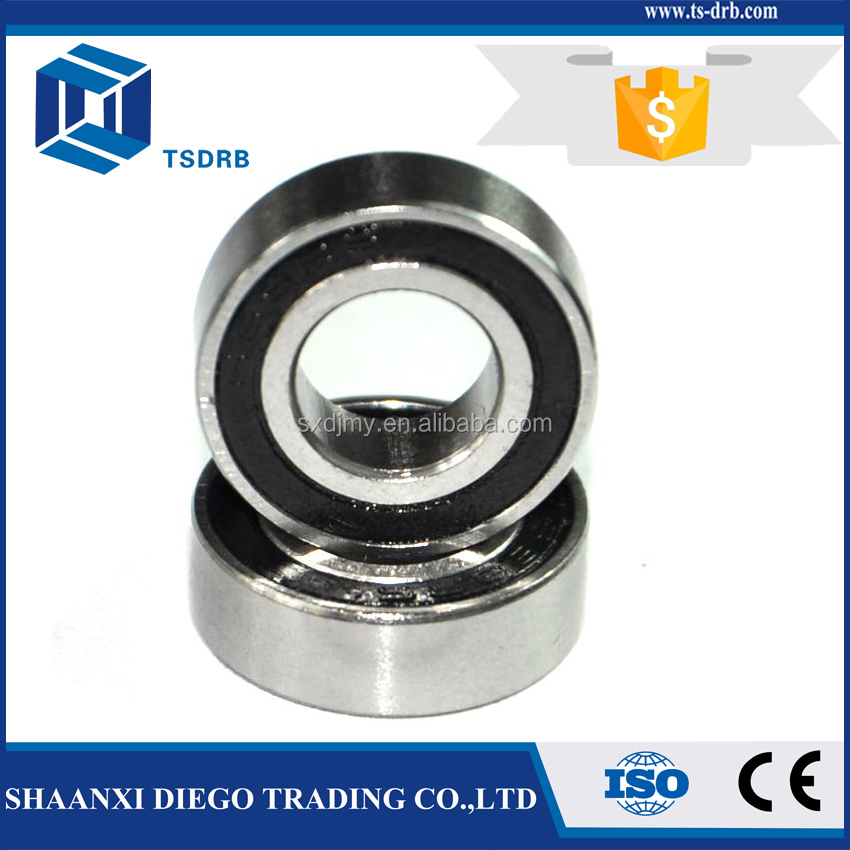 Chinese Manufacturer supply quality deep groove 6000 2RS bearings 10x26x8mm in bulk