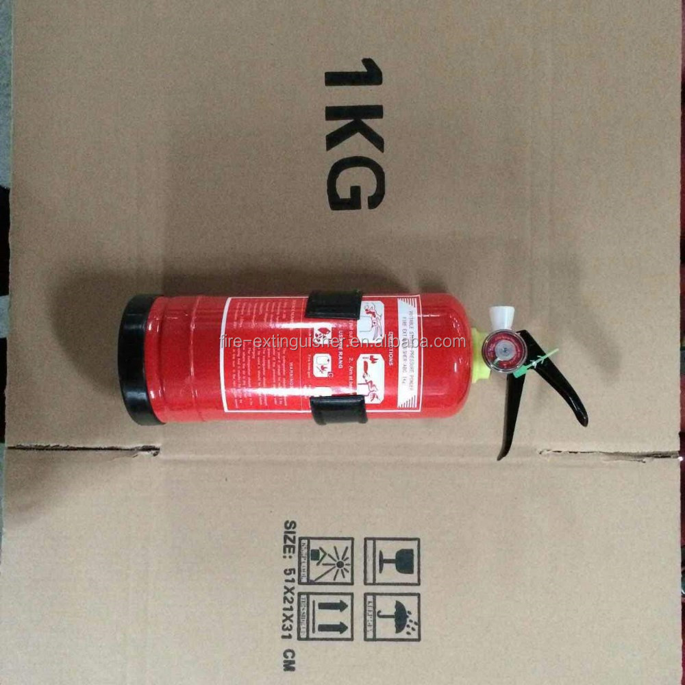 1kg dry powder small fire extinguisher for car