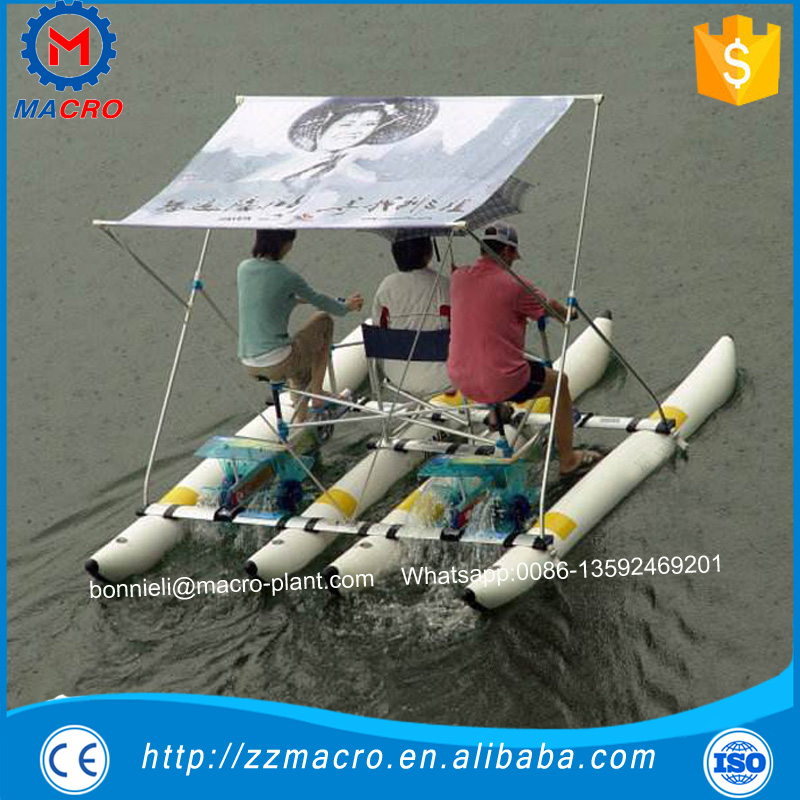 2017 Best sea sports rides park equipment water bicycle
