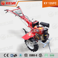 New Product KY135F 9HP KAMA Diesel Engine Multi-functional Green Machine Tiller