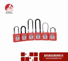 good safety lockout padlock plastic container lock combination