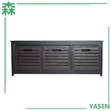 Aneway Houseware Wood 3-Drawers Storage Cabinet Living Room Furniture Drawers Chest With Three Drawers