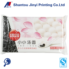 Food grade promotional plastic cooler bag for frozen sweet dumplings