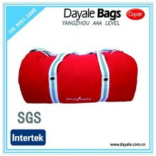 Outdoor waterproof traveling duffel bag luggage travel bags red canvas bag