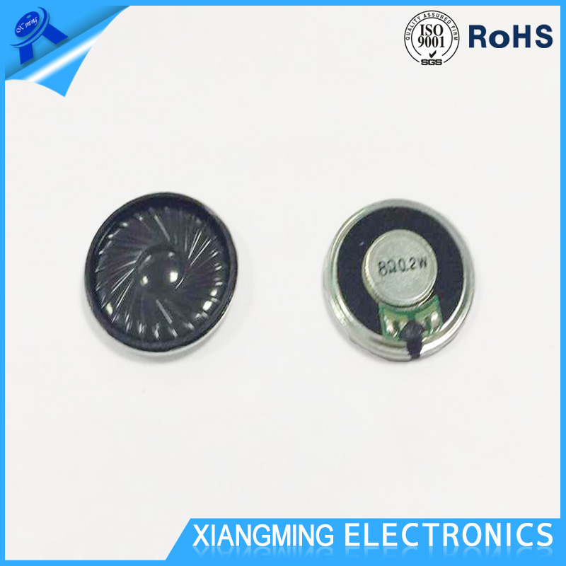 2017 Hot Sale Factory Price 28MM Mylar Small Speaker 8 Ohm 0.2 W
