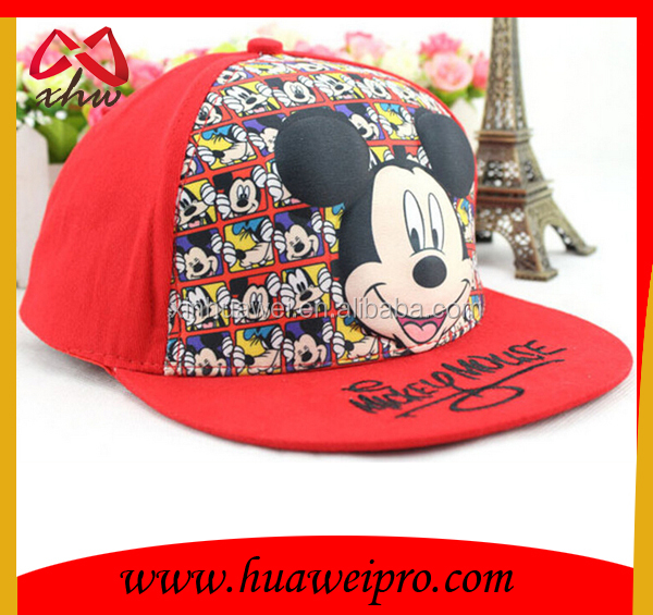 Cheap and High Quality Hip hop boy and girl flat bill sport Cap