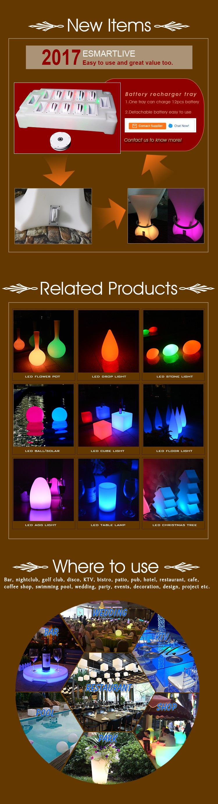 Christmas Gift battery operated led egg shaped light table lamp
