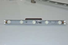 lateral led bar PCB 28mm width 5pcs lights Aluminum board