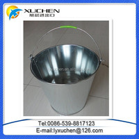 Cheap price Silver Color Galvanized Metal Bucket from China
