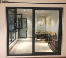 Insulated Aluminum Frame Low-E Glass Lift And Sliding Door Interior Double Glazing Tempered