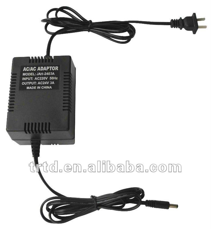 230V to 24V 3A AC-AC Linear Adapter