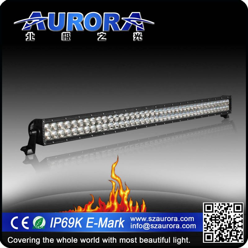 Aurora IP69K waterproof 50inch LED dual row 50cc motorcycle