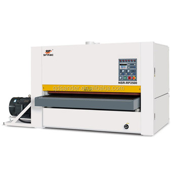 NSR-RP2500 Bigger width series board factory dedicated heavy duty drum sander machine