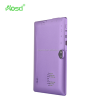Hot Sell big speaker android Dual Core External 3G 7 inch tablet pc with front and back camera
