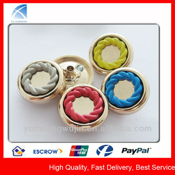 YX5438 Fashion Metal Snap Button All Kinds of Buttons