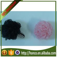 Multifunctional mesh pouf bath sponge with great price honco