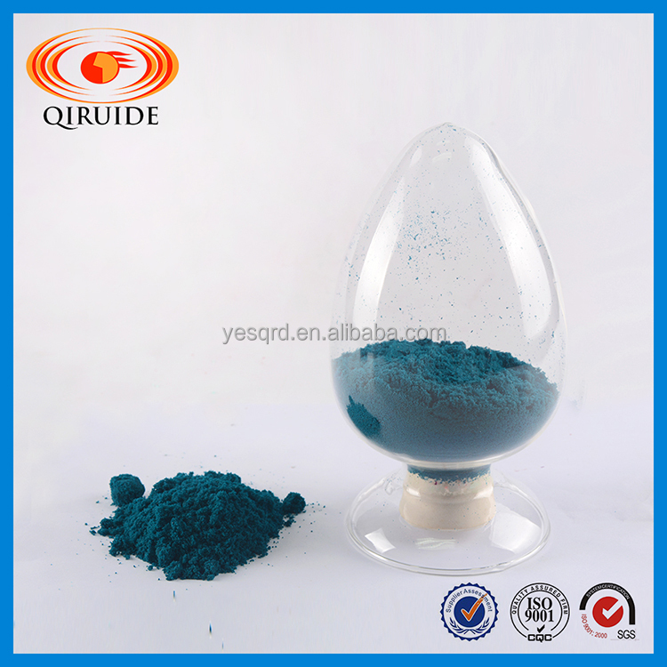 High grade cupric acetate green crystal powder
