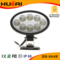 24w Chinese Utv Parts Car Accessory Roof Fog Lamp 4x4 Led Work Light