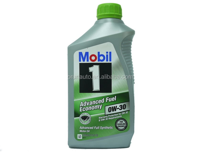 MOBIL1 ADVANCED FUEL ECONOMY 0W-30 motor oil