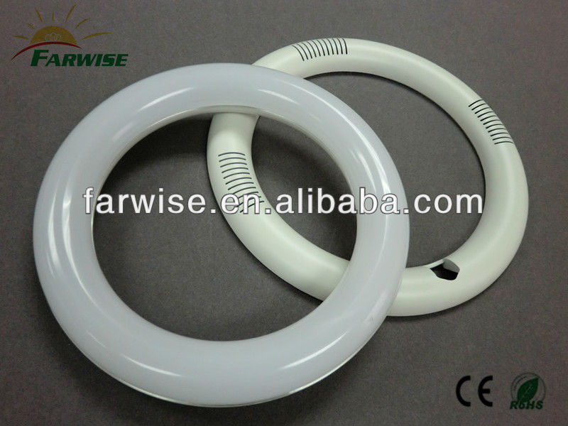 22W 375*30mm LED Ring / Round / Circle Tube Lighting Housing
