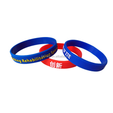 Shenzhen Hongyi silicone slap bracelet Cheap Silicone Rubber Wristband with Custom Logo