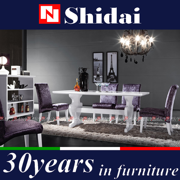 chippendale salle manger meubles acajou bois table manger 6 personne table manger et. Black Bedroom Furniture Sets. Home Design Ideas