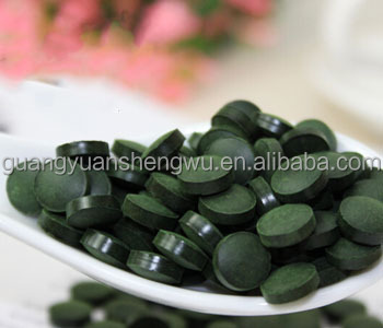 GMP factory supplier spirulina chlorella spirulina extract tablets for slimming body
