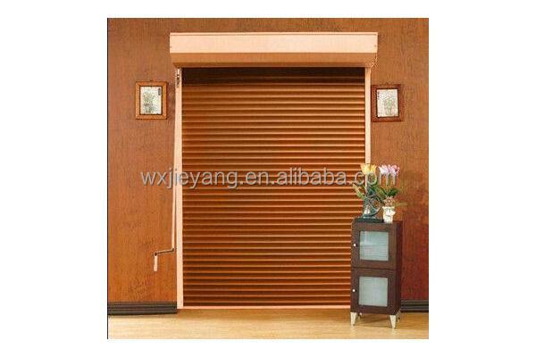 Wooden color interior rolling door buy paint woodcolors