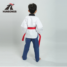 High quality custom/poomsae taekwondo uniform with WTF approved