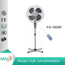 hot selling cheap 16 inches stand fan with cross base with remote control