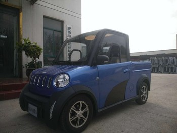 Chinese brand electric cheap electric mini pickup 2 seaters