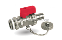 "3/8""-3/4"" PN25 Manual Power chinese taizhou manufacture brass water ball valve (VG-A42051)"