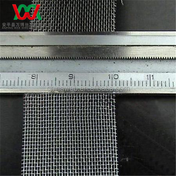 metal current collector wire mesh