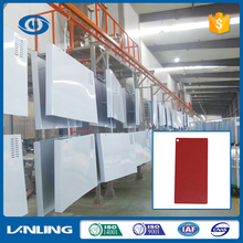 super quality new design hammer finish powder coating carmine red