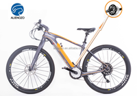 2016 Spain carbon fibre motorized bicycle, centre motor mountain e vehicles, bicicleta eletrica