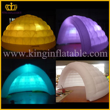 Commercial Indoor Small Inflatable Luna Tent, Popular Inflatable LED Dome For Party
