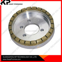 China diamond tools supplier cup shape grinding polishing cutting diamond cutting wheel for glass