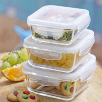 Everich High Quality Borosilicate Glass Office Lunch Box