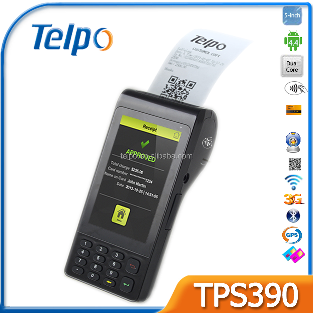 POS terminal for mobile money, topup, mobile payment