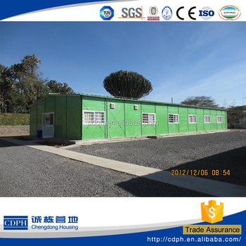 prefabricated accommodation building