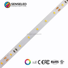 SENSELED 16.4ft SMD 2835 nonwaterproof led strip light 48led/m DC 24V 10mm width PCB warm white SMD 240LED/5m Ribbon