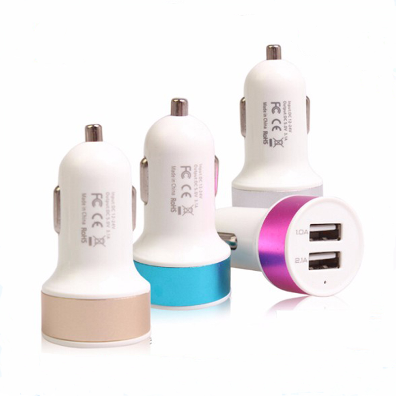 Factory directly sale super quick mobile phone car charger ,universal dual usb car charger for all phones with top quality