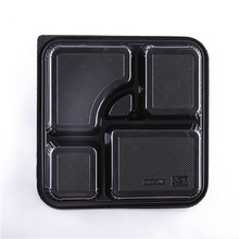 KW3-1103 Disposable Freezer Microwave Fast Food Lunch Box Container (264*264*48mm)
