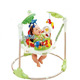 South American market safety high quality baby jumping high chair round baby jumper