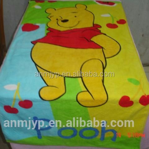 teddy bear lovely bath towel