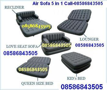 5 in 1 air sofa bed as seen on tv call 08586843505sofa for 5 in 1 sofa bed price