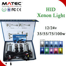 China car accessory high efficiency high power 6000k 8000k HID headlight xenon conversion kit H1 H7 H11 HB3 HB4 h4 xenon