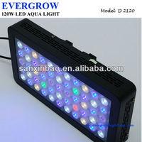 New Dimmable 120w LED Aquarium/Tank Marine Coral Reef Fish Grow Light Lamp