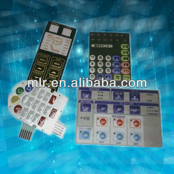 Polydome tactile-type membrane keyboard switch Manufacturer