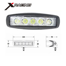 Xracing NM10-15W IP67 waterproof new 15w car led tuning light led work light
